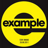 Stay Awake - Example, Single slick