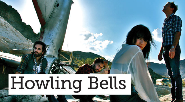 Howling Bells - editorial CREDIT: Heather Hyte