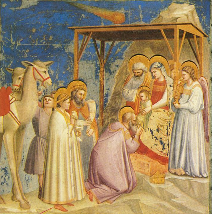 giotto-adoration of the magi
