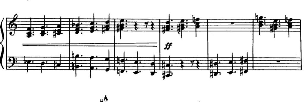ConstantStructureChords - Bartok Bulgarian Rhythm 6