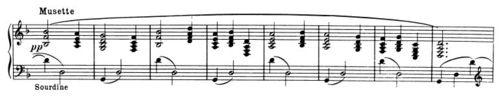 HarmonicPlaning - Ravel La Tombea Minuet