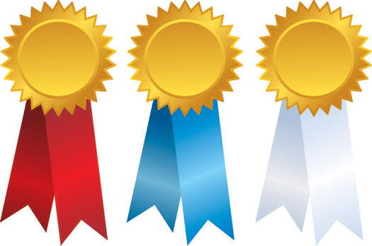 AwardsThreeRibbons