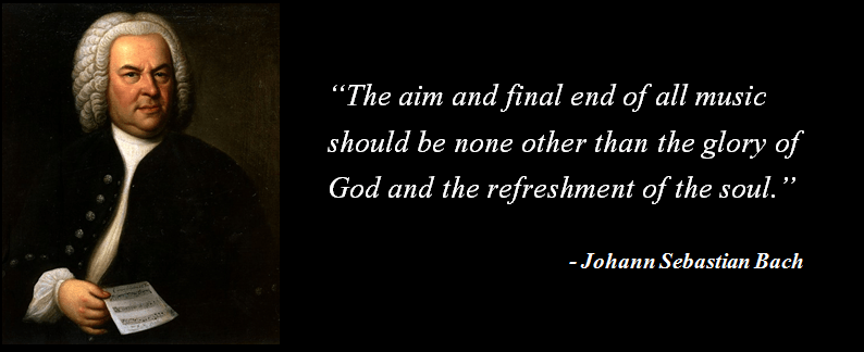 Tarkovsky's Solaris: Bach and God: Picture and Quote from Johann Sebastian Bach