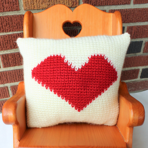 Heart Pillow - Double Sided