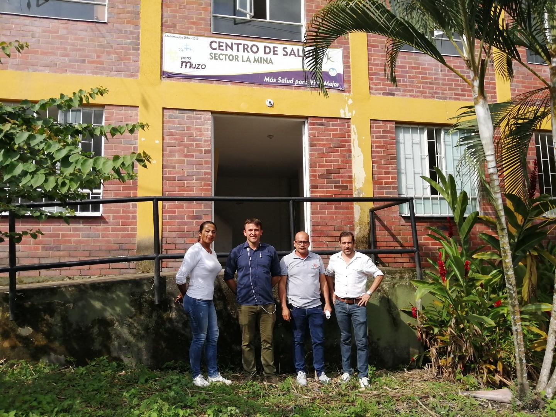 Empieza a operar el puesto de salud de la comunidad de Mata de Café.