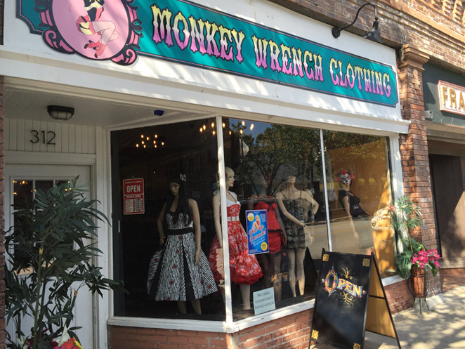 Monkey Wrench Clothing Storefront