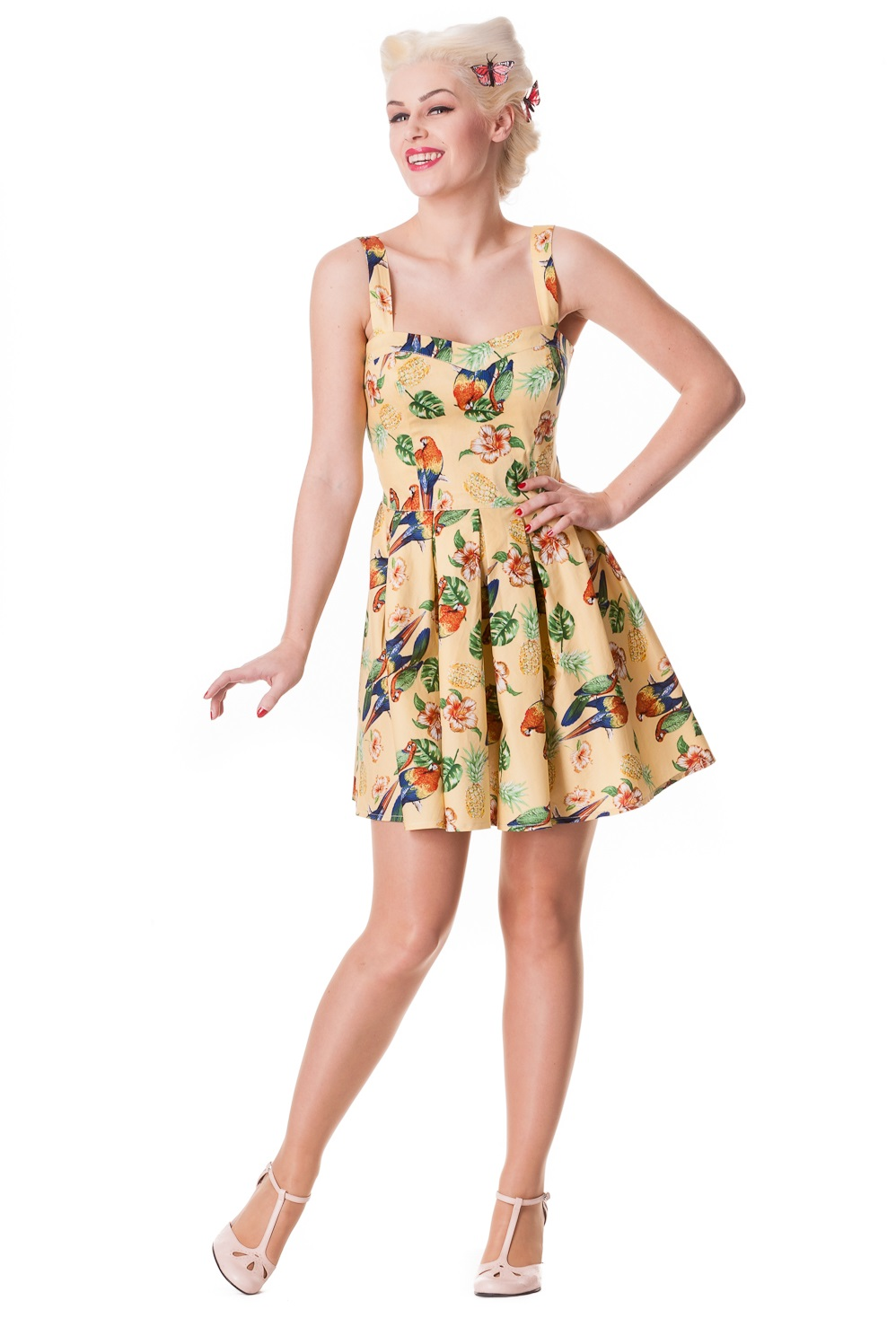 hell bunny sand becky mini dress monkey wrench clothing