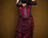 Burgundy_adjustable_steampunk_skirt1_van_tassel