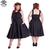 Hell Bunny Gery Plus Size Dress