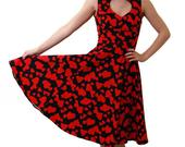 Vintage_red_hearts_on_black_long_dress