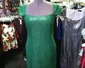 Green_faux_sequin_dress