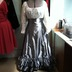 Gunmetal Victorian Skirt