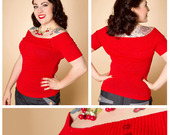 Miss_fortune_red_shoulder_sweater