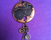 Copper-disc-steampunk-necklace1