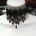 Crystal Beads Drape Choker