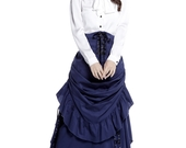 Navy_steampunk_skirt