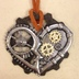 Heart/Gear Necklace