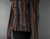 Steampunk-striped-cravat-blouse-2