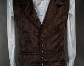 Brown-brocade-waistcoat