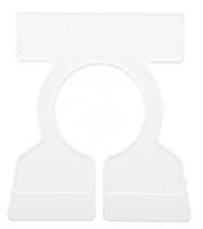 Tab Top Blank White Rack Dividers