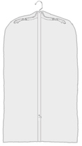 Clear Vinyl Garment Bag-40 by Manhattan Wardrobe Supply