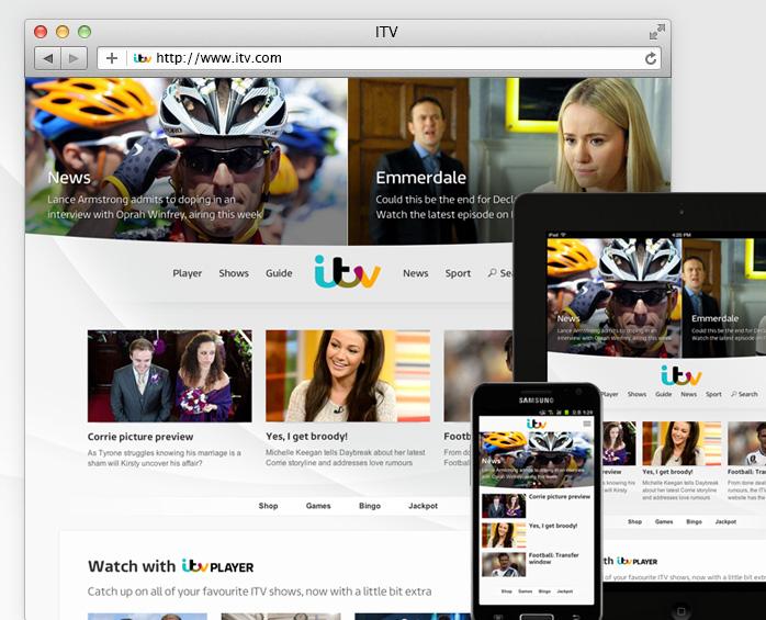ITV Homepage
