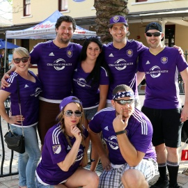 Orlando City Soccer Block Party