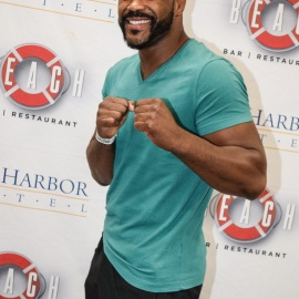 Beach: Rashad Evans Meet & Greet