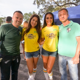 Hard Rock: Rowdies Tailgate Party