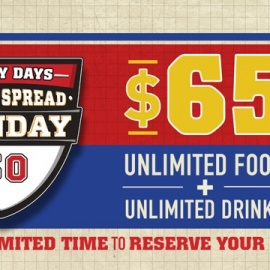 Watch Super Bowl 50 with the All-Access Pass at Glory Days Grill