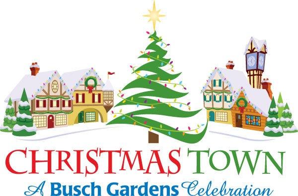Chistmas Town At Busch Gardens Tampa Fl Dec 18 2015