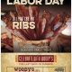 LABOR DAY WEEKEND ALL YOU CAN EAT SPARE RIBS & FIXINS