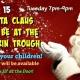 Santa Claus at Waterin Trough