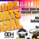 Score@OCH Sunday's Sports Social's!  First Sunday Of Each Month!