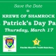 St. Patrick's Day Party presented by the Krewe of Shamrock