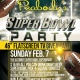 Peabody's Super Bowl Party