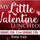 My Little Valentine Luncheon