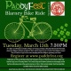 PaddyFest Blarney Bike Ride and Concert at Ferg's Live!