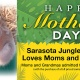 Free Admission to Sarasota Jungle Gardens for Moms with Their Kids on Mother's Day