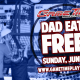 DAD EATS FREE at GameTime!