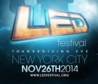 LED Festival - Thanksgiving Eve NYC