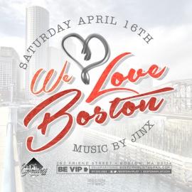 Boston VIP List Presents: We Love Boston!