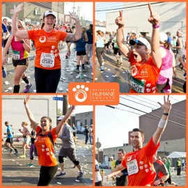 Join the Western PA Humane Society's team for the 2016 Dick's Sporting Goods Pittsburgh Marathon