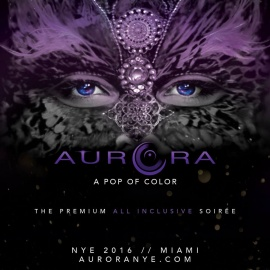 Aurora New Years Eve: A Pop of Color