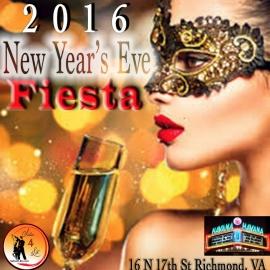 NYE Fiesta 2016 at Havana 59