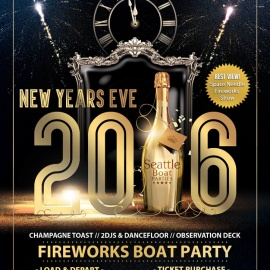 New Years Eve 2016 Boat Party