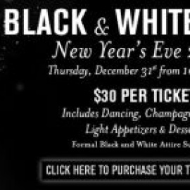 Black and White NYE Party!