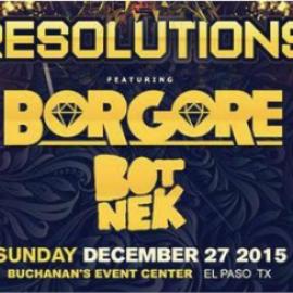 RESOLUTIONS:BORGORE & Friends 2016