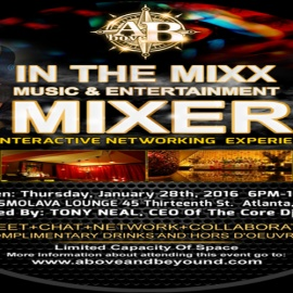 IN THE MIXX Music & Entertainment An Interactive Networking Experience