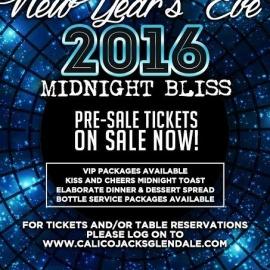 New Year's Eve party at Glendale Arizona Bars